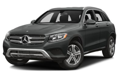 3/4 Front Glamour 2018 Mercedes-Benz GLC-Class