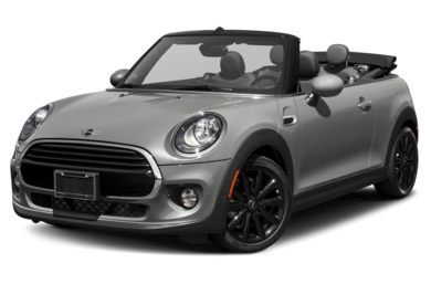 3/4 Front Glamour 2016 MINI Convertible