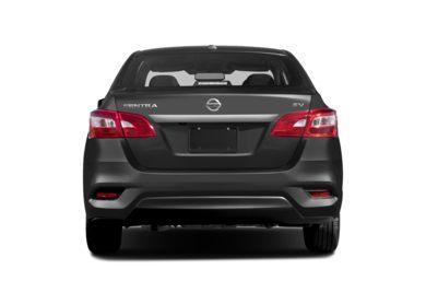 Rear Profile 2016 Nissan Sentra