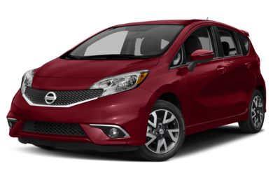 3/4 Front Glamour 2015 Nissan Versa Note