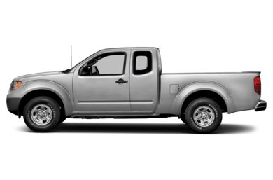 90 Degree Profile 2014 Nissan Frontier
