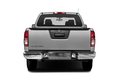 Rear Profile  2014 Nissan Frontier