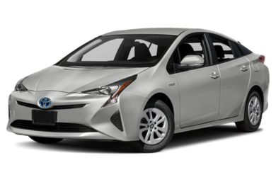 3/4 Front Glamour 2016 Toyota Prius