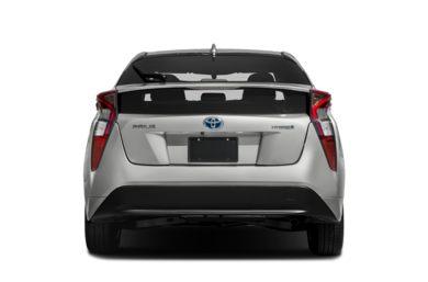Rear Profile 2017 Toyota Prius
