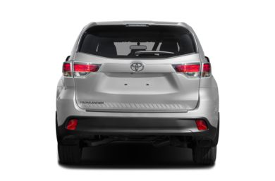 Rear Profile 2016 Toyota Highlander