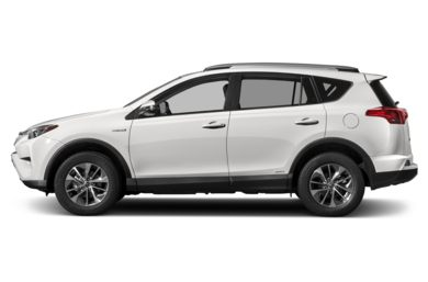 90 Degree Profile 2017 Toyota Rav4 Hybrid