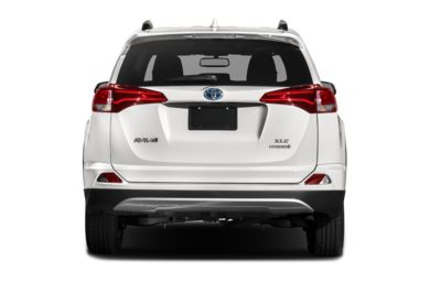 Rear Profile 2017 Toyota Rav4 Hybrid
