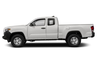 90 Degree Profile 2017 Toyota Tacoma