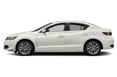 90 Degree Profile 2017 Acura ILX