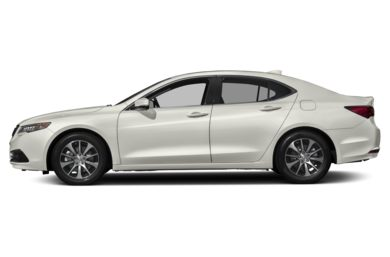 90 Degree Profile 2017 Acura Tlx