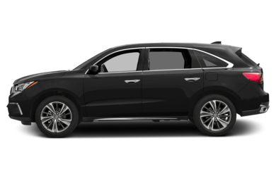 90 Degree Profile 2017 Acura Mdx