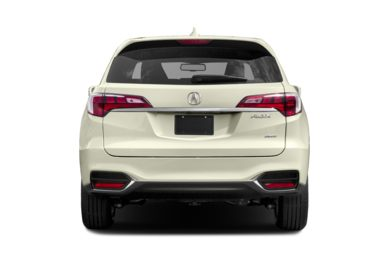 Rear Profile 2017 Acura Rdx