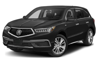 3/4 Front Glamour 2017 Acura MDX Sport Hybrid