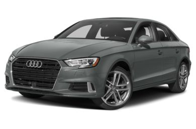 3/4 Front Glamour 2018 Audi A3