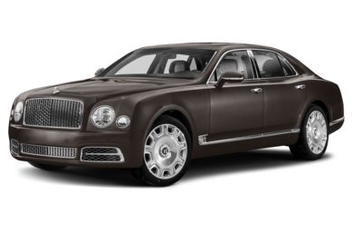 3/4 Front Glamour 2018 Bentley Mulsanne
