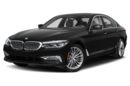 3/4 Front Glamour 2018 BMW 540