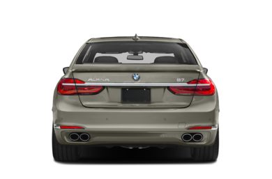 Rear Profile  2017 BMW ALPINA B7