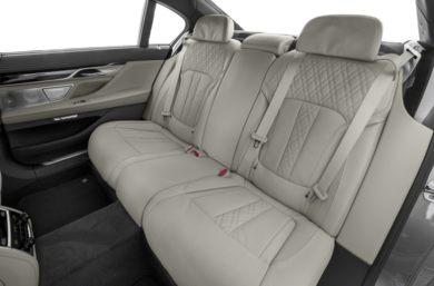 Rear Interior Volume 2018 BMW ALPINA B7