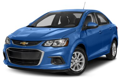 3/4 Front Glamour 2018 Chevrolet Sonic
