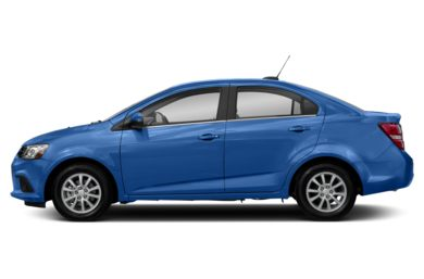 90 Degree Profile 2018 Chevrolet Sonic