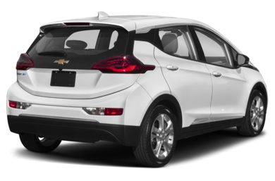 3/4 Rear Glamour  2017 Chevrolet Bolt EV