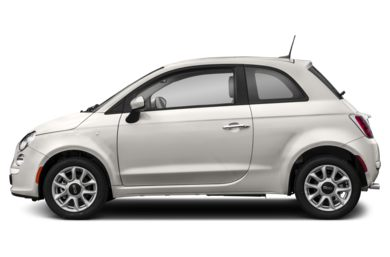 90 Degree Profile 2017 FIAT 500