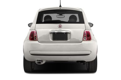 Rear Profile  2017 FIAT 500