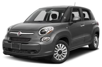 3/4 Front Glamour 2017 FIAT 500L