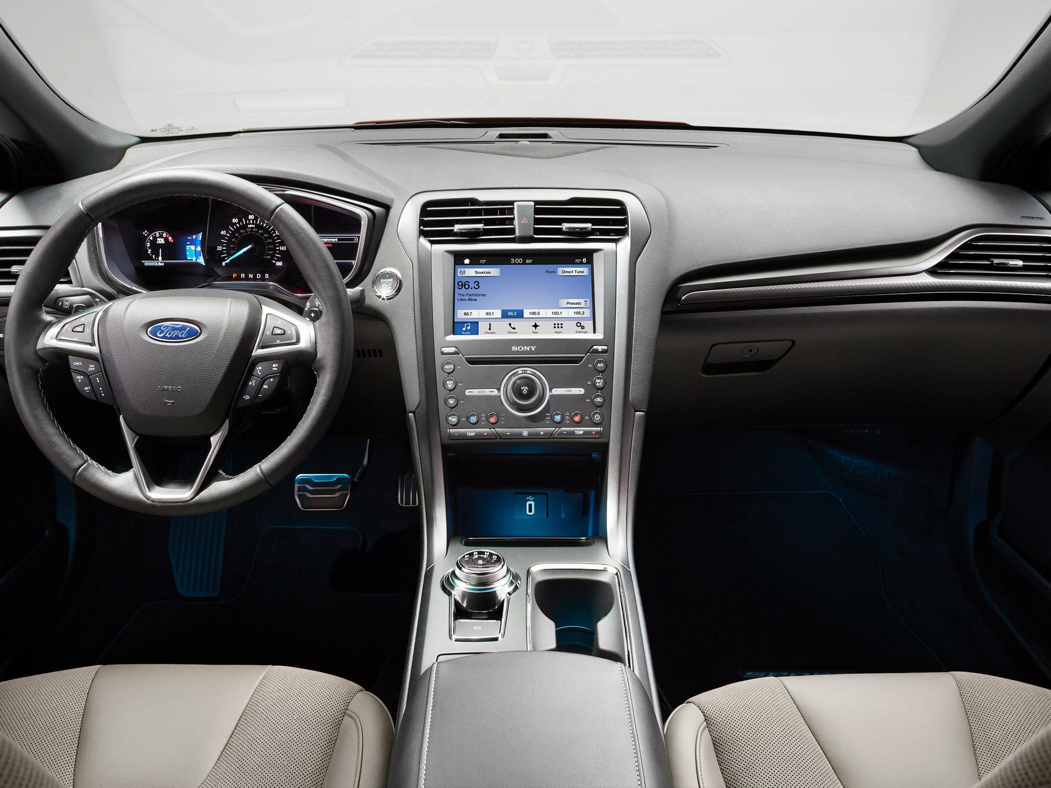 2017 ford fusion styles & features highlights