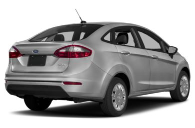 3 4 Rear Glamour 2017 Ford Fiesta