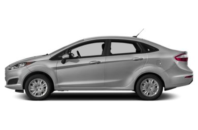 90 Degree Profile 2017 Ford Fiesta