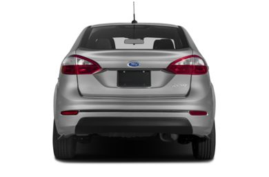 Rear Profile 2017 Ford Fiesta