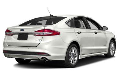 3 4 Rear Glamour 2017 Ford Fusion Hybrid