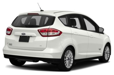 3/4 Rear Glamour  2017 Ford C-Max Energi