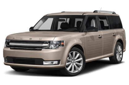 3/4 Front Glamour 2019 Ford Flex