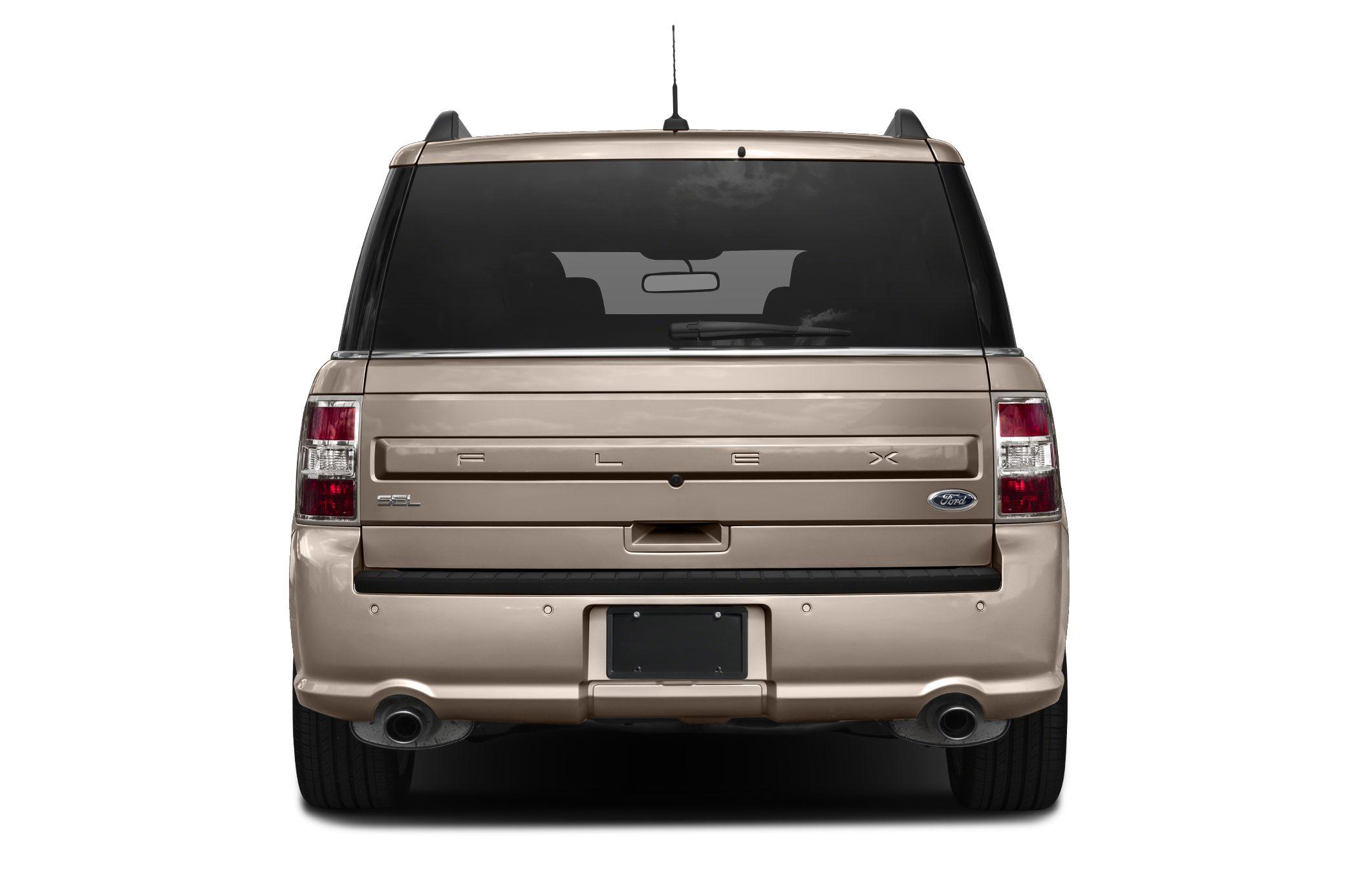 Rear Profile  Ford Flex