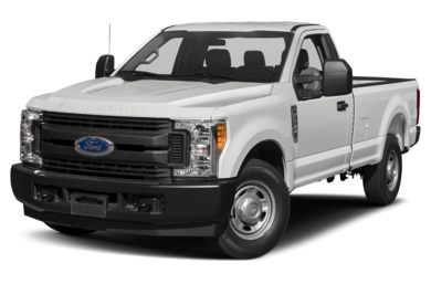 3/4 Front Glamour 2019 Ford F-250