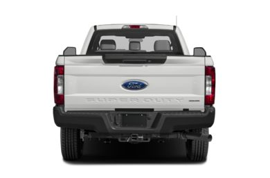 Rear Profile  2017 Ford F-250