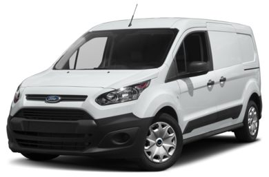 3/4 Front Glamour 2018 Ford Transit Connect
