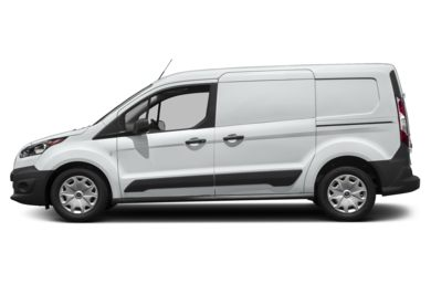 90 Degree Profile 2018 Ford Transit Connect