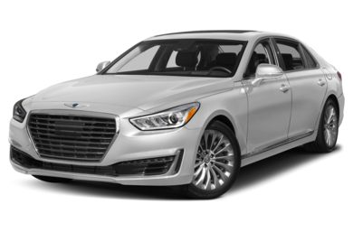 3/4 Front Glamour 2018 Genesis G90