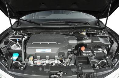 Engine Bay 2017 Honda Accord