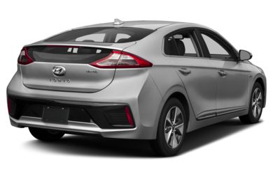 3/4 Rear Glamour  2018 Hyundai Ioniq Electric