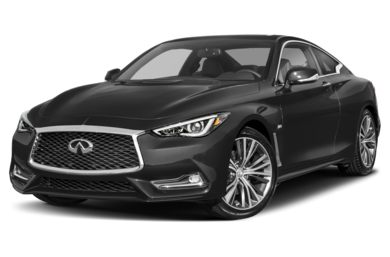 3/4 Front Glamour 2018 INFINITI Q60