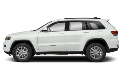 90 Degree Profile 2018 Jeep Grand Cherokee