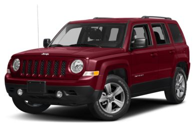 3 4 Front Glamour 2017 Jeep Patriot