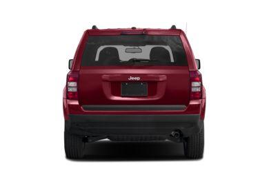 Rear Profile 2017 Jeep Patriot