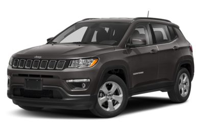 3/4 Front Glamour 2017 Jeep New Compass