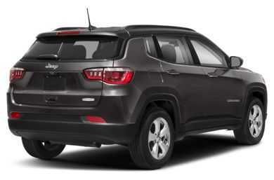 3/4 Rear Glamour  2017 Jeep New Compass