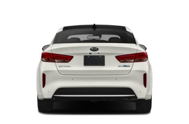 Rear Profile  2018 Kia Optima Hybrid